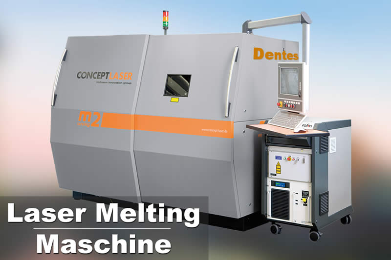 Laser-Melting-Maschine